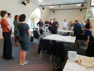 Meer diepgang met meer, gesprekken culturele veld met Paul Collard op initiatief van Mocca
