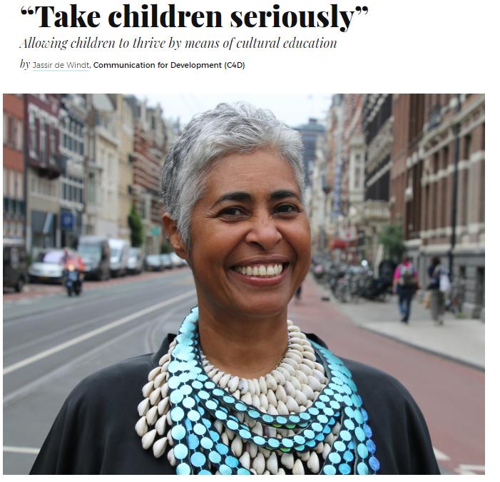 artikel Peggy Brandon in Thrive Global