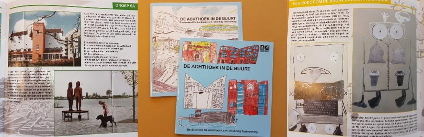 De Acthoek en Stichting Taalvorming prentenboek LeerlijnenLab de buurt