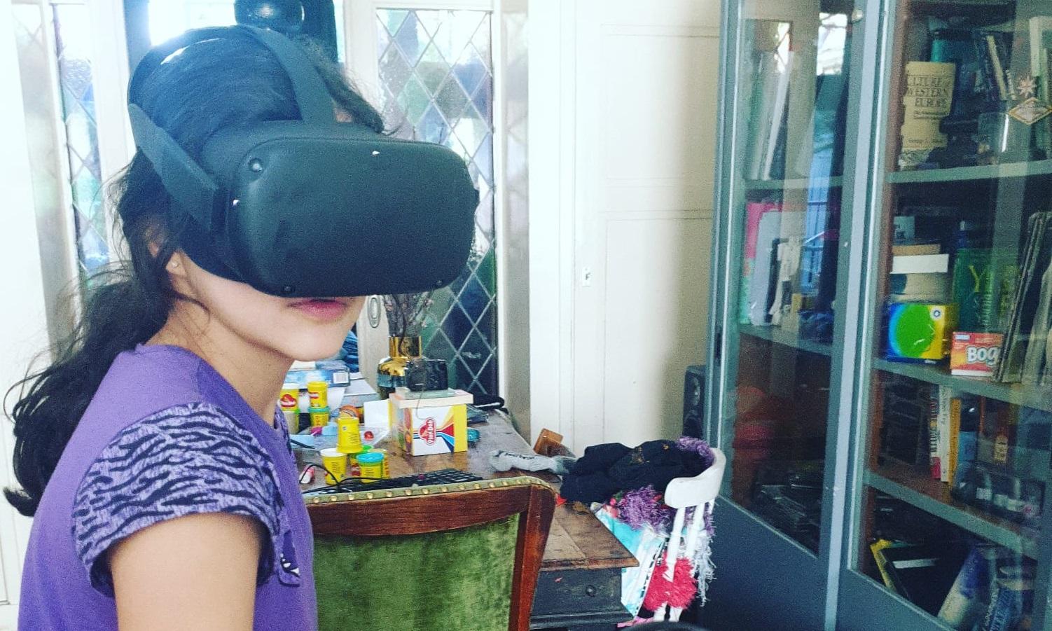 Naniki virual reality