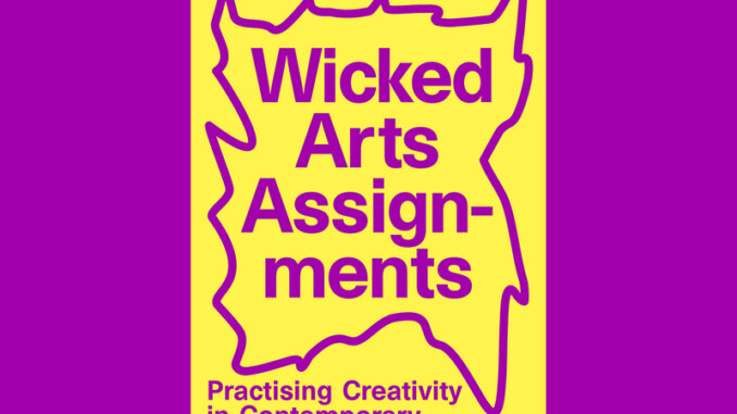 Boekcover Wicked Arts Assignments Lectoraat AHK